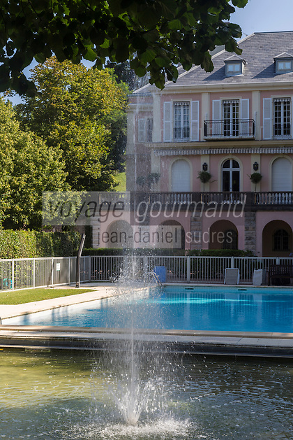 France, Aquitaine, Pyrénées-Atlantiques, Pays Basque, Biarritz: Villa Miraflores, quartier Saint-Charles//  France, Pyrenees Atlantiques, Basque Country, Biarritz: Villa Miraflores,  Saint-Charles district<br />   [Non destiné à un usage publicitaire - Not intended for an advertising use]