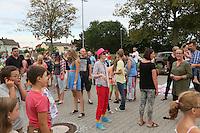 """Viel los beim """"Langweiler-Spiel"""" der Abschlussveranstaltung der Ferienspiele der Kinder- und Jugendförderung Trebur"""