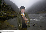 Writer John Moriarty pictured at the Gap of Dunloe, Killarney.<br />