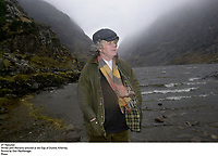 Writer John Moriarty pictured at the Gap of Dunloe, Killarney.<br /> Picture by Don MacMonagle