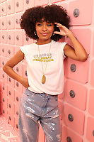 NEW YORK NY- APRIL 6: Yara Shahidi at Beautycon Festival NYC 2019 Day 1 at the Javits Center in New York City on April 6, 2019. <br /> CAP/MPI/WG<br /> &copy;WG/MPI/Capital Pictures