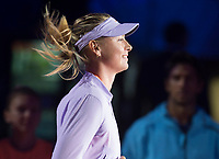 Maria Sharapova during the match of the Charity day previus at Madrid Open Tenis 2017in  Madrid, Spain. May 04, 2017. (ALTERPHOTOS/Rodrigo Jimenez) /NORTEPHOTO.COM