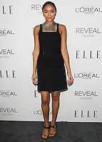 BEVERLY HILLS, CA, USA - OCTOBER 20: Ashley Madekwe arrives at ELLE's 21st Annual Women In Hollywood held at the Four Seasons Hotel on October 20, 2014 in Beverly Hills, California, United States. (Photo by Celebrity Monitor)