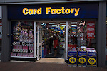 Card Factory shop, Ipswich