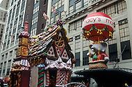 New York City, USA. November 28th, 1991. The Macy's Thanksgiving Parade.