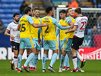 Bolton Wanderers' Joe Williams jostling with Rotherham United's Will Vaulks<br /> <br /> Photographer Andrew Kearns/CameraSport<br /> <br /> The EFL Sky Bet Championship - Bolton Wanderers v Rotherham United - Wednesday 26th December 2018 - University of Bolton Stadium - Bolton<br /> <br /> World Copyright © 2018 CameraSport. All rights reserved. 43 Linden Ave. Countesthorpe. Leicester. England. LE8 5PG - Tel: +44 (0) 116 277 4147 - admin@camerasport.com - www.camerasport.com
