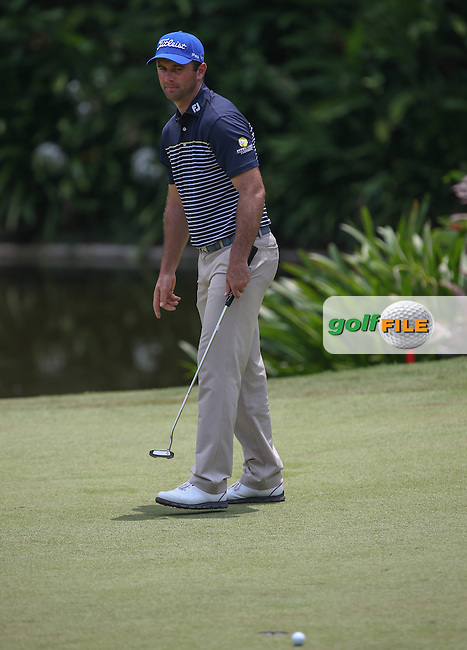 Ricardo Santos (POR) added two shots to lie on -8 after Round Three of the 2014 Maybank Malaysian Open at the Kuala Lumpur Golf & Country Club, Kuala Lumpur, Malaysia. Picture:  David Lloyd / www.golffile.ie