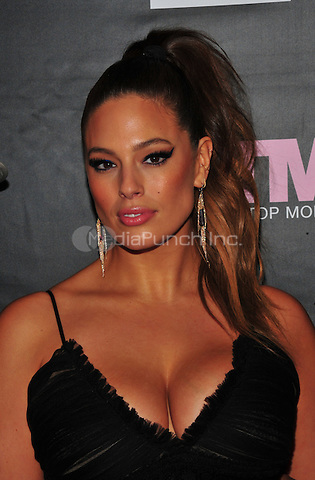 New York, NY: December 8: Ashley Graham attends the VH1 America's Next Top Model premiere party at Vandal on December 8, 2016 in New York City.on December 7, 2016 in New York City.@John Palmer / Media Punch