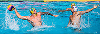 8 YOUNGER Aaron AUS, 3 KOVACEVIC Igor FRA <br /> FRA (white cap) -  AUS (blue cap)<br /> Preliminary Round Water Polo Women<br /> Day06  19/07/2017 <br /> XVII FINA World Championships Aquatics<br /> Alfred Hajos Complex Margaret Island  <br /> Budapest Hungary <br /> Photo @ Deepbluemedia/Insidefoto