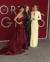 "LOS ANGELES - DEC 5:  Jihae, Hera Hilmar, Leila George at the ""Mortal Engines"" Los Angeles Premiere at the Village Theater on December 5, 2018 in Westwood, CA"