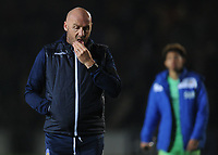 Colchester United manager John McGreal looks dejected at full time<br /> <br /> Photographer Kevin Barnes/CameraSport<br /> <br /> The EFL Sky Bet League Two - Newport County v Colchester United - Saturday 17th November 2018 - Rodney Parade - Newport<br /> <br /> World Copyright © 2018 CameraSport. All rights reserved. 43 Linden Ave. Countesthorpe. Leicester. England. LE8 5PG - Tel: +44 (0) 116 277 4147 - admin@camerasport.com - www.camerasport.com
