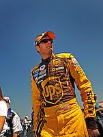 Apr 25, 2009; Talladega, AL, USA; NASCAR Sprint Cup Series driver David Ragan during qualifying for the Aarons 499 at Talladega Superspeedway. Mandatory Credit: Mark J. Rebilas-