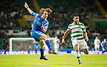 Celtic v St Johnstone....26.12.10  .Stevie May blasts his sshot over the corssbar.Picture by Graeme Hart..Copyright Perthshire Picture Agency.Tel: 01738 623350  Mobile: 07990 594431