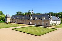 France, Loir-et-Cher (41), Cellettes, Château de Beauregard, orangeries du 17ème