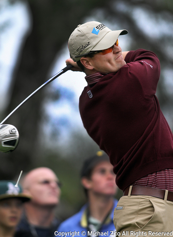 12/05/09 Thousand Oaks, CA: Zach Johnson during the 3rd round of the Chevron World Challenge held at Sherwood Country Club to benefit the Tiger Woods Foundation.