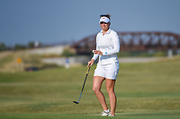 Nanna Koerstz Madsen (DEN) after sinking her putt on 2 during the round 3 of the Volunteers of America Texas Classic, the Old American Golf Club, The Colony, Texas, USA. 10/5/2019.<br /> Picture: Golffile   Ken Murray<br /> <br /> <br /> All photo usage must carry mandatory copyright credit (© Golffile   Ken Murray)