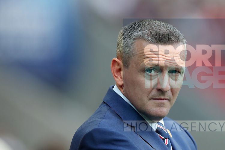 England's Aidy Boothroyd looks on during the UEFA Under 21 Semi Final at the Stadion Miejski Tychy in Tychy. Picture date 27th June 2017. Picture credit should read: David Klein/Sportimage
