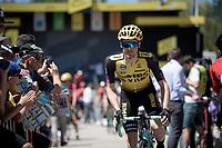 Steven Kruijswijk (NED/Jumbo-Visma) at the race start in Saint-Dié-des-Vosges<br /> <br /> Stage 5: Saint-Dié-des-Vosges to Colmar(175km)<br /> 106th Tour de France 2019 (2.UWT)<br /> <br /> ©kramon
