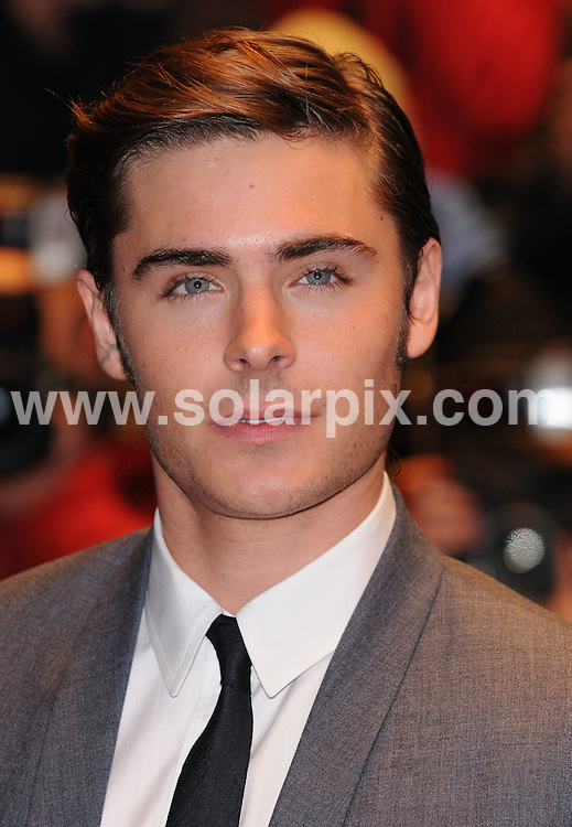 **ALL ROUND PICTURES FROM SOLARPIX.COM**.**WORLDWIDE SYNDICATION RIGHTS**.the UK Film Premiere of 17 Again at the Odeon West End, London, UK. 26 March 2009..This pic: Zac Efron..JOB REF: 8724 SSD     DATE: 26_03_2009.**MUST CREDIT SOLARPIX.COM OR DOUBLE FEE WILL BE CHARGED**.**ONLINE USAGE FEE GBP 50.00 PER PICTURE - NOTIFICATION OF USAGE TO PHOTO @ SOLARPIX.COM**.**CALL SOLARPIX : +34 952 811 768 or LOW RATE FROM UK 0844 617 7637**