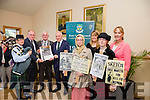 Piper Lianne McCarthy, Dr Gabriel Doherty, Cllr Pat McCarthy, Cathaoirleach of Kerry, Minister Jimmy Deenihan, Sorcha Dolan, Ucc,  Sharon O'Keeffe, Arts Office. KCC, Fiona Kelly, Ucc, Kate Kennelly, Kerry County Council at the official opening of the 1916 roadshow in Kerins O'Rahilly's Clubhouse on Saturday