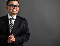 HTC phone company executive, Taipei, Taiwan.