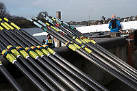 Hammersmith. London. United Kingdom,  Hammersmith. London.  General View crews boating from Furnivall SC, 2018 Men's Head of the River Race.  Championship Course, River Thames, 2018 Men's Head of the River Race. , Championship Course, Putney to Mortlake. River Thames, <br /> <br /> Sunday   11/03/2018<br /> <br /> [Mandatory Credit:Peter SPURRIER Intersport Images]<br /> <br /> LEICA CAMERA AG  LEICA Q (Typ 116)  1/1000 sec. 28 mm f.8 200 ISO.  42.6MB