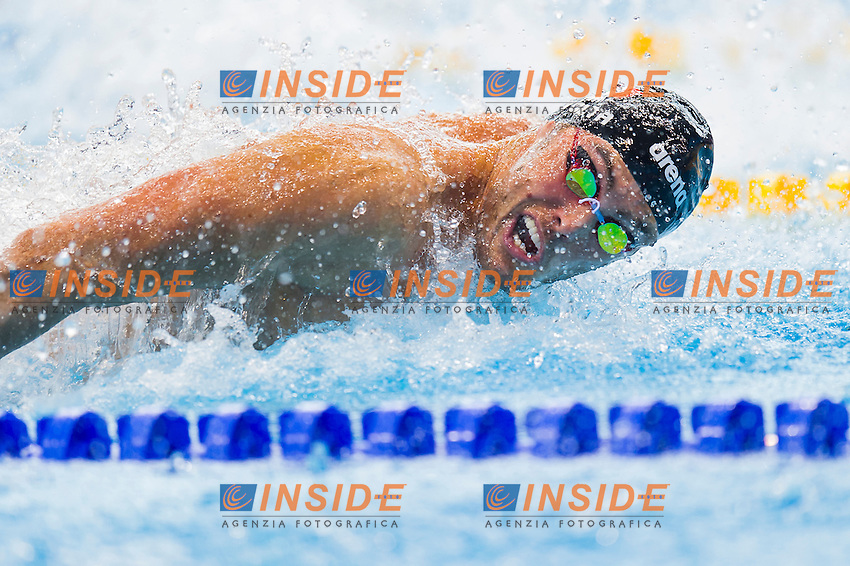 RIVOLTA Matteo ITA<br /> London, Queen Elizabeth II Olympic Park Pool <br /> LEN 2016 European Aquatics Elite Championships <br /> Swimming<br /> Men's 50m butterfly preliminary <br /> Day 08 16-05-2016<br /> Photo Giorgio Perottino/Deepbluemedia/Insidefoto