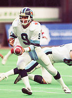 Mike Hohensee Toronto Argonauts quarterback 1985. Copyright photograph Scott Grant