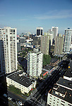 Vancouver downtown skyline<br />  Vancouver, British Columbia