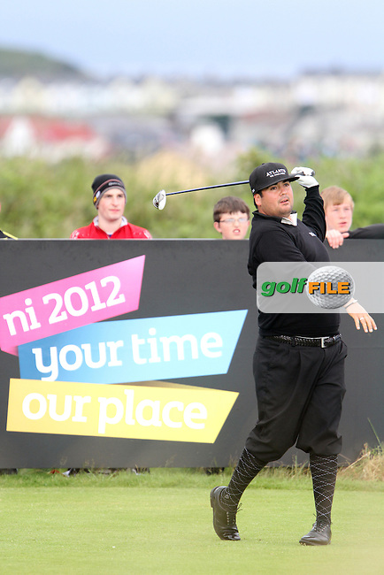 Joel Sjoholm (SWE) on the 4th on Day 3 of the 2012 Irish Open at Royal Portrush Golf Club, Portrush, Co.Antrim, 30/6/12...(Photo Jenny Matthews/www.golffile.ie)