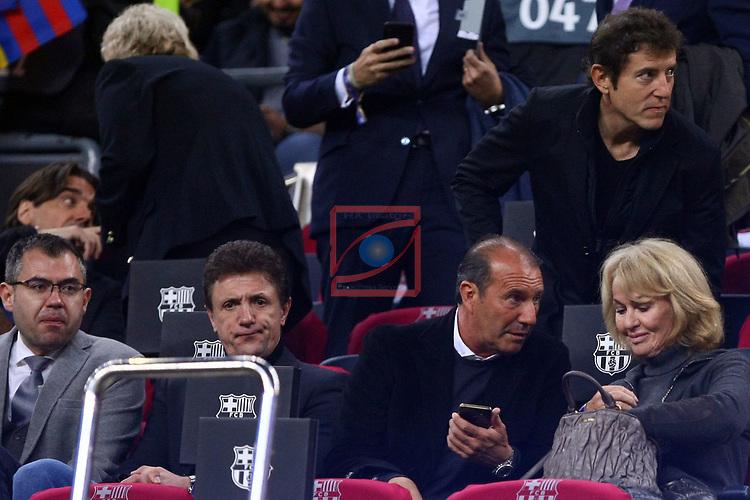 UEFA Champions League 2018/2019.<br /> Quarter-finals 2nd leg.<br /> FC Barcelona vs Manchester United: 3-0.<br /> Popescu, Jesus Angoy, Danny Cruyff & Manel Fuentes.