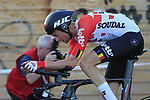 Sander Armee (BEL) Lotto-Soudal in action during Stage 1 of La Vuelta 2019, a team time trial running 13.4km from Salinas de Torrevieja to Torrevieja, Spain. 24th August 2019.<br /> Picture: Eoin Clarke | Cyclefile<br /> <br /> All photos usage must carry mandatory copyright credit (© Cyclefile | Eoin Clarke)