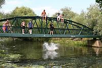 AUG 07 Hot weather, River Cam, Cambridge, UK - 7 August 2020