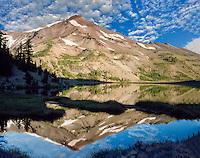 Green Lake with South Sister Mountain. Oregon