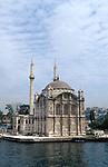 Turkey, Istanbul. Ortakoy Mosque