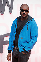 Virgil Abloh attends Fashion for Relief Cannes 2018 during the 71st annual Cannes Film Festival at Aeroport Cannes Mandelieu on May 13, 2018 in Cannes, France.<br /> CAP/GOL<br /> &copy;GOL/Capital Pictures