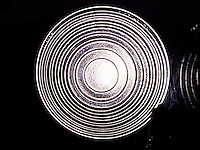 FRESNEL LENS FROM FOCUSING SPOtLIGHT<br />