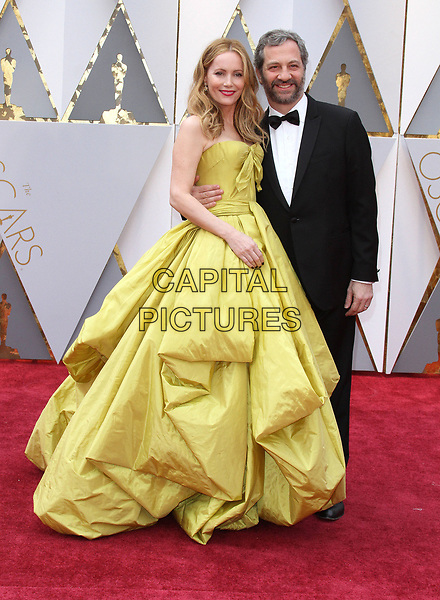 26 February 2017 - Hollywood, California - Leslie Mann and Judd Apatow. 89th Annual Academy Awards presented by the Academy of Motion Picture Arts and Sciences held at Hollywood &amp; Highland Center. <br /> CAP/ADM<br /> &copy;ADM/Capital Pictures