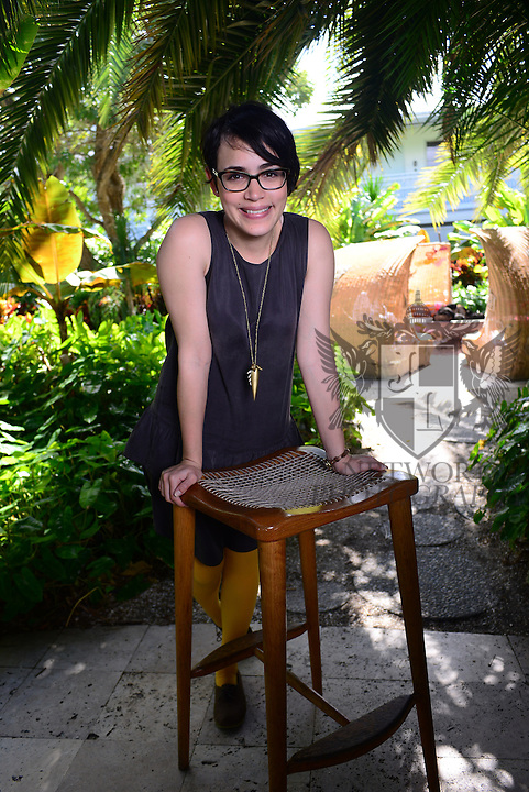 MIAMI BEACH, FL - MARCH 09: Wendy Muniz poses for portrait by photographer Johnny Louis during the 2015 Miami Dade College's Miami International Film Festival at The Standard Hotel &amp; Spa on Monday March 9, 2015 in Miami Beach, Florida. <br /> ( Photo by Johnny Louis / jlnphotography.com )
