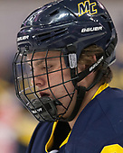 Sami Tavernier (Merrimack - 25) - The visiting Merrimack College Warriors defeated the Boston University Terriers 4-1 to complete a regular season sweep on Friday, January 27, 2017, at Agganis Arena in Boston, Massachusetts.The visiting Merrimack College Warriors defeated the Boston University Terriers 4-1 to complete a regular season sweep on Friday, January 27, 2017, at Agganis Arena in Boston, Massachusetts.