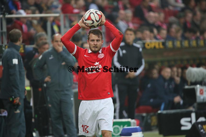 Daniel Brosinski (Mainz) - 1. FSV Mainz 05 vs. SV Werder Bremenl, Coface Arena