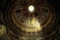 Villa Rotonda, Fresken von A. Maganza, Vicenza,  Venetien, Italien, Unesco-Weltkulturerbe