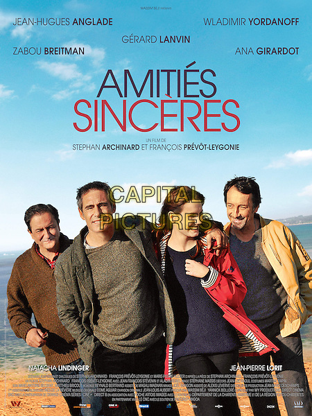 FRENCH POSTER ART<br /> in Amities sinceres (2012) <br /> *Filmstill - Editorial Use Only*<br /> CAP/NFS<br /> Image supplied by Capital Pictures