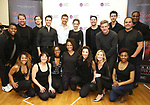 """The cast attend the Meet the Cast of The MCP Production of """"The Scarlet Pimpernel"""" at Pearl Rehearsal studio Theatre on February 14, 2019 in New York City."""