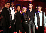Rory O'Malley, Norm Lewis, Tracie Thoms, Orfeh, Andy Karl and Charles Busch during a press preview at Feinstein's/54 Below on November 18, 2016 in New York City.