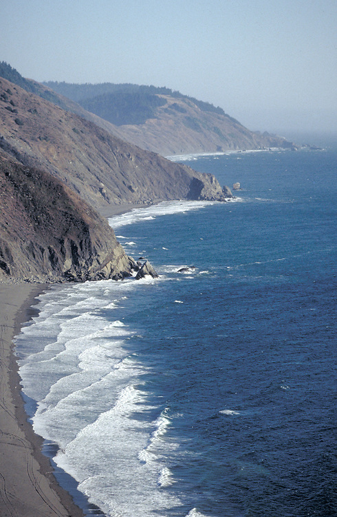 Usal Beach on the Lost Coast of Northern California in Mendocino County.