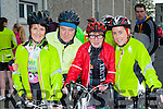 Killarney CC cyclists l-r: Helen O'Sullivan, Paul O'Raw, Joan McCarthy, Stephanie Lane who participated in the three Climbs Cycle in Killarney on Sunday