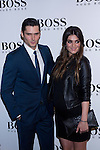 31.05.2012. Celebrities attend opening ceremony of the new BOSS Store Madrid Jorge Juan on the terrace of the Palacio de Cibeles. In the image Sergio Mur and Olivia Molina (Alterphotos/Marta Gonzalez)