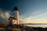 Annisquam lighthouse sunset, Cape Ann, MA