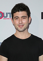 "LOS ANGELES, CA- Ian Nelson, At 2017 Outfest Los Angeles LGBT Film Festival - Closing Night Gala Screening Of ""Freak Show"" at The Theatre at Ace Hotel, California on July 16, 2017. Credit: Faye Sadou/MediaPunch"